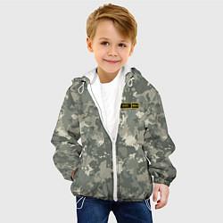 Куртка с капюшоном детская O I + цвета 3D-белый — фото 2