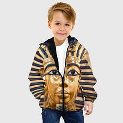 Куртка с капюшоном детская Фараон цвета 3D-черный — фото 2