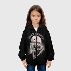 Куртка с капюшоном детская Black Sabbath: Acid Cosmic цвета 3D-черный — фото 2