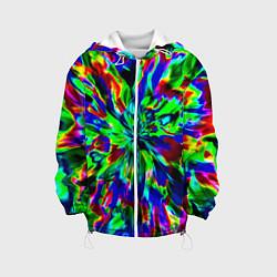 Куртка с капюшоном детская Оксид красок цвета 3D-белый — фото 1