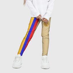 Леггинсы для девочки Armenia Style цвета 3D-принт — фото 2
