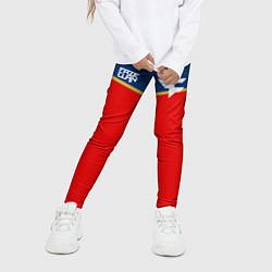 Леггинсы для девочки FaZe Clan: Uniform цвета 3D — фото 2