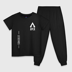 Пижама хлопковая детская Apex Legends Gamer цвета черный — фото 1