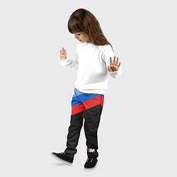 Брюки детские BMW M: Brand Colors цвета 3D — фото 2