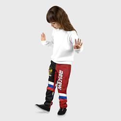 Брюки детские Moscow, Russia цвета 3D — фото 2