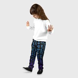 Брюки детские Blue Runes цвета 3D — фото 2