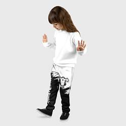 Брюки детские ЧЁРНЫЙ КЛЕВЕР цвета 3D — фото 2