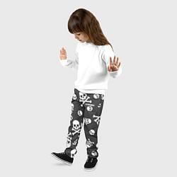 Брюки детские Scorpions цвета 3D-принт — фото 2