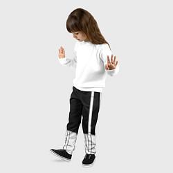 Брюки детские ШТАНЫ САНСА SANS цвета 3D — фото 2