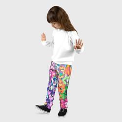 Брюки детские My Little Pony цвета 3D — фото 2