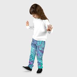 Брюки детские Смесь красок цвета 3D — фото 2