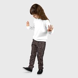 Брюки детские Унесённые призраками цвета 3D — фото 2