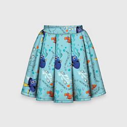 Юбка-солнце для девочки Finding Nemo цвета 3D — фото 1