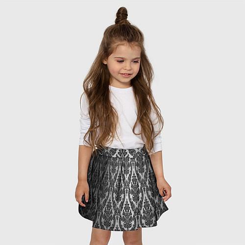 Детская юбка-солнце Гламурный узор / 3D – фото 3