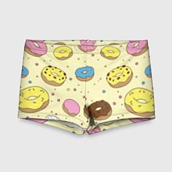 Плавки для мальчика Сладкие пончики цвета 3D — фото 1