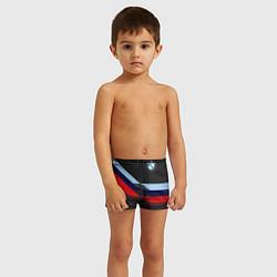 Плавки для мальчика Бмв Bmw Black цвета 3D — фото 2