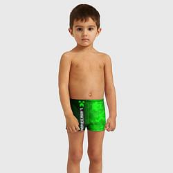 Плавки для мальчика MINECRAFT МАЙНКРАФТ цвета 3D — фото 2