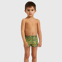 Плавки для мальчика Узор цвета 3D — фото 2