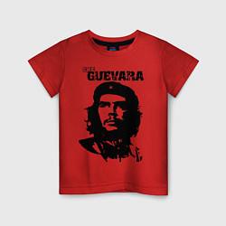 Футболка хлопковая детская Che Guevara цвета красный — фото 1