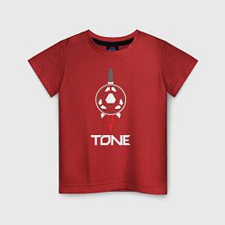 Футболка хлопковая детская TONE цвета красный — фото 1