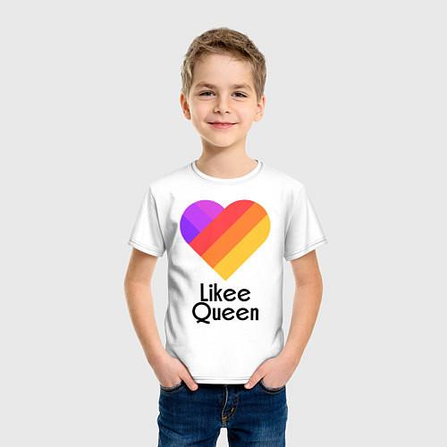 Детская футболка Likee Queen / Белый – фото 3