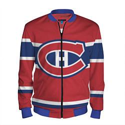 Бомбер мужской Montreal Canadiens цвета 3D-синий — фото 1