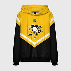 Толстовка-худи мужская NHL: Pittsburgh Penguins цвета 3D-черный — фото 1