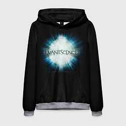 Толстовка-худи мужская Evanescence Explode цвета 3D-меланж — фото 1