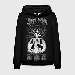 Толстовка-худи мужская Wolves in the Throne Room цвета 3D-черный — фото 1
