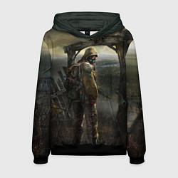 Толстовка-худи мужская STALKER: Call of Pripyat цвета 3D-черный — фото 1