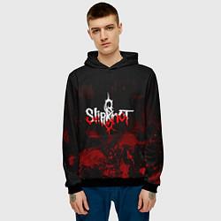 Толстовка-худи мужская Slipknot: Blood Blemishes цвета 3D-черный — фото 2
