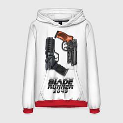 Толстовка-худи мужская Blade Runner 2049: Weapon цвета 3D-красный — фото 1