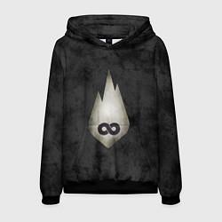 Толстовка-худи мужская Thousand Foot Krutch цвета 3D-черный — фото 1