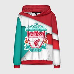 Толстовка-худи мужская FC Liverpool цвета 3D-красный — фото 1