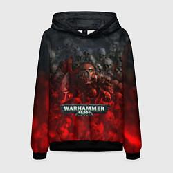 Толстовка-худи мужская Warhammer 40000: Dawn Of War цвета 3D-черный — фото 1