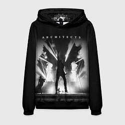 Толстовка-худи мужская Architects: Black Metal цвета 3D-черный — фото 1