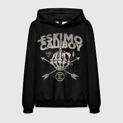 Толстовка-худи мужская Eskimo Callboy: Bones цвета 3D-черный — фото 1