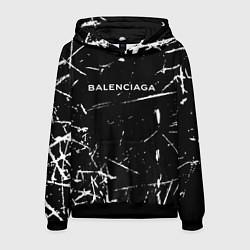 Толстовка-худи мужская BALENCIAGA цвета 3D-черный — фото 1