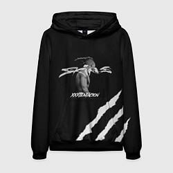 Толстовка-худи мужская XXXTENTACION SKINS цвета 3D-черный — фото 1