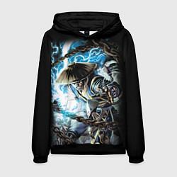 Толстовка-худи мужская Raiden цвета 3D-черный — фото 1