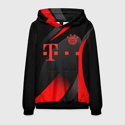 Толстовка-худи мужская FC Bayern Munchen цвета 3D-черный — фото 1
