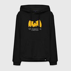 Толстовка-худи хлопковая мужская Wu-Tang Clan цвета черный — фото 1