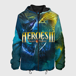 Куртка с капюшоном мужская Heroes of Might and Magic цвета 3D-черный — фото 1