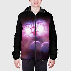 Куртка с капюшоном мужская Five Nights At Freddy's цвета 3D-черный — фото 2