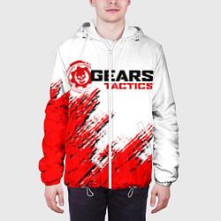 Куртка с капюшоном мужская GEARS TACTICS цвета 3D-белый — фото 2