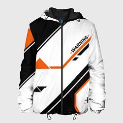 Куртка с капюшоном мужская CS:GO Asiimov P250 Style цвета 3D-черный — фото 1