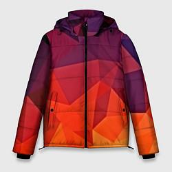Куртка зимняя мужская Geometric цвета 3D-черный — фото 1