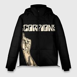 Куртка зимняя мужская Scorpions Rock цвета 3D-черный — фото 1