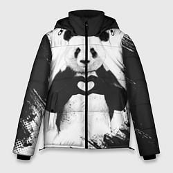 Куртка зимняя мужская Panda Love цвета 3D-черный — фото 1
