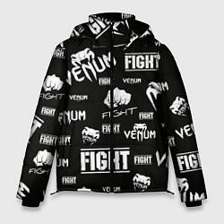 Куртка зимняя мужская VENUM цвета 3D-черный — фото 1